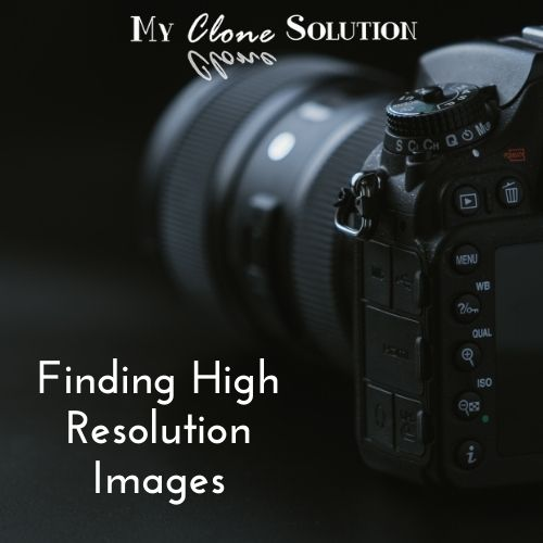 What You Need to Know About High Resolution Images