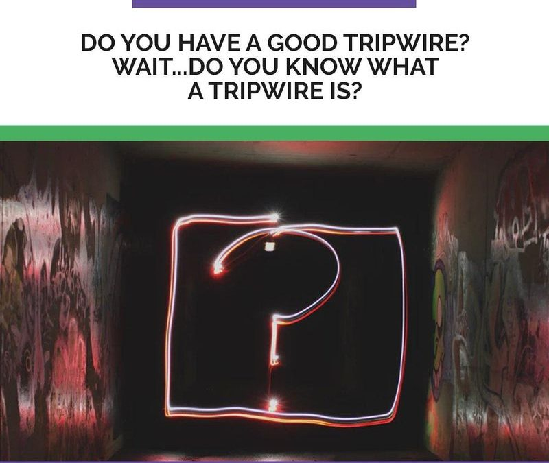 What's The Point of a TripWire Anyways?
