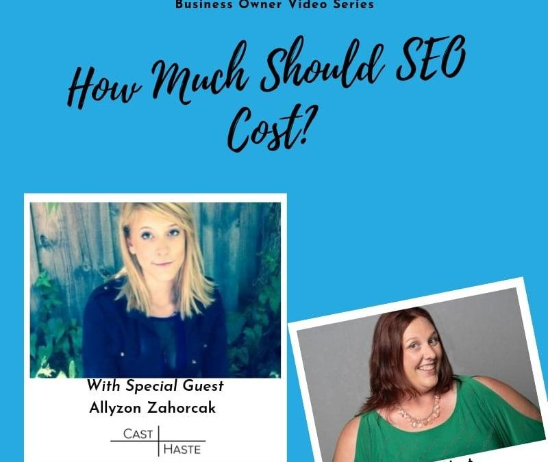 How Much Should SEO Cost?